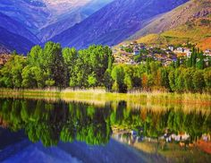 #iran_beautiful_land #ghazvin #avan_lake #alamoot #