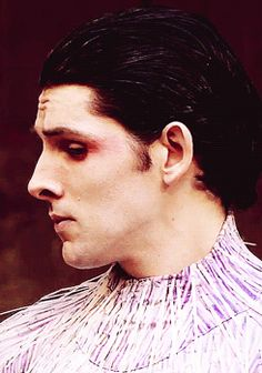Colin. ........................ (gif) Colin, I respect you and your.... choices..... and the, uh.... feathers, is it?
