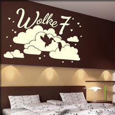 Wandtattoo Spruch Text Wolke 7 Wortspiel   Wandtattoos Software, Shops, Home Decor, Word Games, Presents, Tents, Decoration Home, Room Decor, Retail
