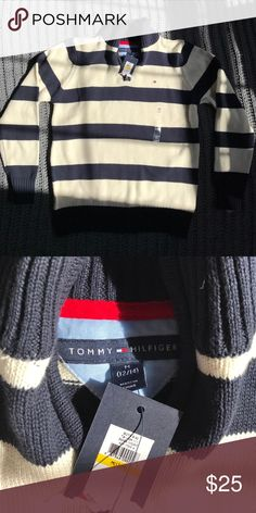 🎉NWT🎉 Handsome Boys Tommy Hilfiger Sweater This is a handsome, NWT, Tommy Hilfiger sweater for boys. Tommy Hilfiger Shirts & Tops Sweaters