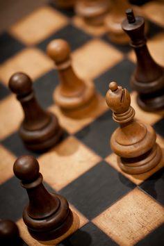 Chess Board.   Photographer: Carleton Krull