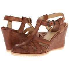 bdd7417c66fd3d Frye Maye Fisherman Women s Wedge Shoes ( 188) ❤ liked on Polyvore  featuring shoes