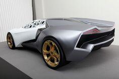 N. Mondini, B. Kocgazi. | Lamborghini Next | 2010 | Transportation-Car Design | Gallery | Scuola Politecnica di Design SPD a Milano