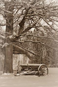 Ozark Mountains Winter