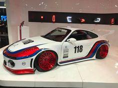 My favorites from Day 1 of the 2017 SEMA show Rwb Porsche, Las Vegas, Rauh Welt, Racing, Japan, Cars, Martini, Vehicles, Garage
