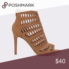 ✨🆕 Aldo Draulla Heels😂 Brand new without box.  Glam up your weekend with a cage pump. For when your brand new outfit calls for something different.   Materials   Material Upper: Textile   Lining Material: Synthetic   Sole: Textile Aldo Shoes Heels