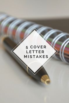 A Glaring Cover Letter Mistake And How You Can Fix It Today
