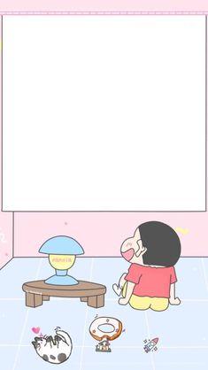 50 Ideas For Wall Paper Iphone Cute Kawaii Posts Sinchan Wallpaper, Kawaii Wallpaper, Wallpaper Iphone Cute, Disney Wallpaper, Wallpaper Backgrounds, Crayon Shin Chan, Sinchan Cartoon, Wal Paper, Cute Lockscreens