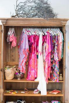 a whole closet full
