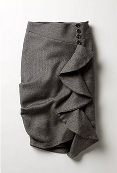 tutorial to create a knockoff of this beautiful Anthropologie skirt