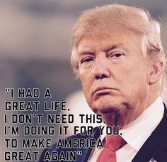 Yes....respect #trump #MAGA