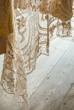 Lady Lacious, roldam: vintagehomeca : (Via Stefano Scata. Belle Lingerie, Antique Lace, Vintage Lace, Hue Color, Colours, Pearl And Lace, Lace Curtains, Linens And Lace, Romantic Lace