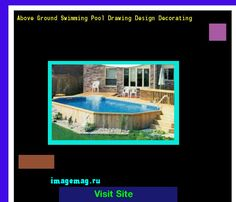 Above Ground Swimming Pool Drawing Design Decorating 132118 - The Best Image Search