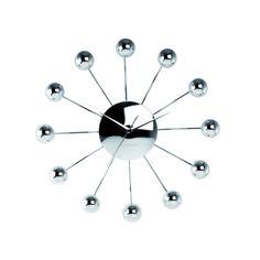 Karlsson chrome Spider Clock #karlsson #clock #dutch #modern #design http://www.metrofurniture.co.uk/lighting-accessories/designer-clocks/karlsson-chrome-spider-ball-clock.html