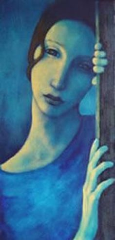 Nicoletta Tomas reminds me of a Modigliani, only more lovely..