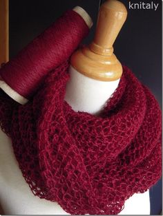 if I ever feel like using lace weight yarn again. Knitted Poncho, Knitted Shawls, Crochet Scarves, Crochet Yarn, Lace Knitting, Knitting Stitches, Knitting Designs, Knitting Projects, Knitting For Kids