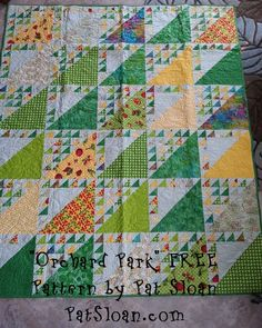 "My free pattern ""Orchard Park"" click and download! Pat Sloan http://blog.patsloan.com/2013/01/pat-sloan-what-to-do-with-it.html#"