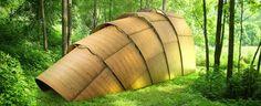 revolution precrafted presents ron arad's armadillo tea pavilion at design miami/ basel