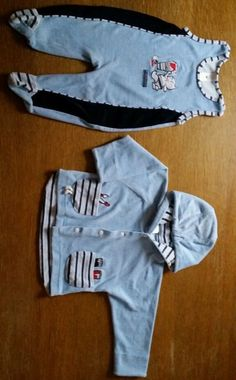 2 Teiler für Baby Strampler mit Jacke Gr.74 neuwertig