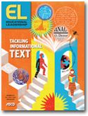 Educational Leadership:Tackling Informational Text:Tackling Complex Texts with Language Learners