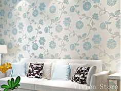 3D textured background pastoral Christmas wallpaper décor indoor wall mural home