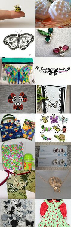 It's a Bugs Life by Nancy Eckert on Etsy--Pinned with TreasuryPin.com