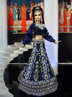 Miss India 2013/2014 - International Pageant Collection - NiniMomo Doll