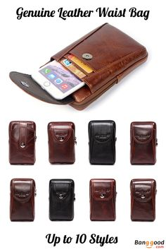 US$18.99 ~20.99 + Free shipping. Phone Bag, Men Genuine Leather Bag, Leather Phone Bag, Waist Bag, Business Phone Bag, Crossbody Bag, Cellphone Bag. Material: Cowhide. Up to 10 Styles. Pick Your Favorite One.