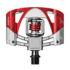 58bc8c7001f Crank Brothers Mallet 3 Pedals RawRedRed Spring ** More info could be found  at the image url. (This is an affiliate link)