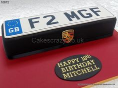 Image result for birthday cake ideas for men with a porsche