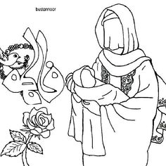 Coloring Pages For Kids, Coloring Books, Learning To Write, Exercise For Kids, Cute Drawings, Islamic, Religion, Printables, Peace