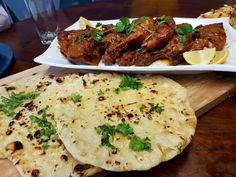 Tandoori Chicken With Naan  / My Recipe