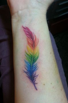 25 #Amazing Inspo for Girls Who Want a Pride Tattoo ...