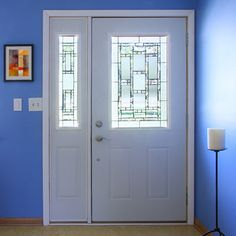 Exterior doors by Mastercraft are beautifully crafted and built to last. Our exterior doors are available in steel fiberglass and wood. & Mastercraft doors have lots of beautiful art glass options. This is ...