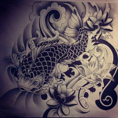 Koi Fish Tattoo Designs Koi Fish Tattoo Koi And Japanese Koi Fish ...