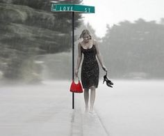 I love barefoot in the rain - Photography Wallpaper ID 1167951 - Desktop Nexus Abstract Elodie Frégé, Smell Of Rain, I Love Rain, Rain Go Away, Rain Days, Going To Rain, Sound Of Rain, Rain Umbrella, Rainy Night