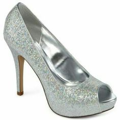 Beatiful Heels Sexy heels, sparkly silver shoes from Worthington,  has a platform,  super comfortable to walk, in great condition. The soles do have some wear,  and the insides as well , but these look absolutely great Worthington Shoes Platforms