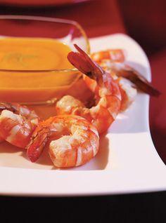 Shrimp Cocktail with Mango Sauce Recipes | Ricardo