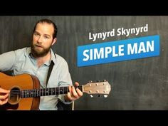 "Guitar lesson for ""Simple Man"" by Lynyrd Skynyrd (acoustic w/ chords) Basic Guitar Lessons, Acoustic Guitar Lessons, Guitar Tips, Guitar Songs, Guitar Chords, Music Lessons, Lynyrd Skynyrd Simple Man, Song Notes, Rhymes Songs"