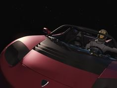 The Tesla Roadster that SpaceX is launching to Mars orbit is equipped with cameras and Elon Musk says they'll provide epic views Falcon Heavy, Tesla Roadster, Entrepreneur Motivation, Elon Musk, Space Shuttle, Spacecraft, Rockets, Aliens, Astronomy