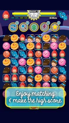 App Shopper: ` Big Candy Hero Match 3 Saga Pro - Best Multiplayer Puzzle Board Games (Games)
