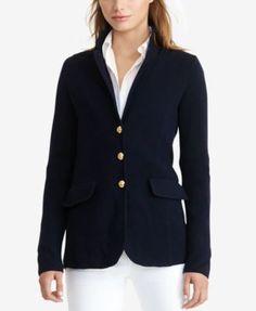 727f571b52 Lauren Ralph Lauren Sweater Blazer Women - Jackets   Blazers - Macy s