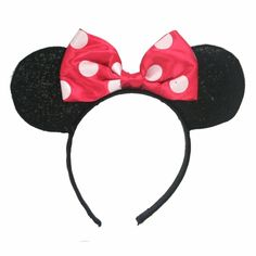 Dress up as Minnie Mouse with these great Minnie Mouse Ears.