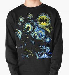 Свитшот «Звездная Ночь Бэтмена»
