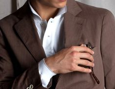 Love this style on guys... so classy.