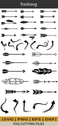 Arrow SVG, Arrow Bundle SVG, Arrow Silhouette, Arrow Clipart, Digital File *********************************************************************** How its work: This is all digital product not physical. Once you will complete purchase, files are ready to download and it just up to 5 mins to complete all process. Arrow Silhouette, Silhouette Design, Silhouette Cameo, Arrow Doodle, Forest Crafts, Arrow Clipart, Arrow Svg, Stencils For Wood Signs, Arrow Design