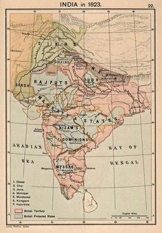 India in 1823