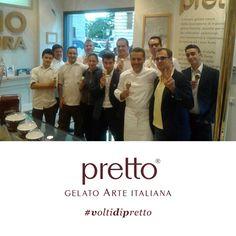 Il nostro chef Giancarlo Perbellini ci sorprende tutte le volte: oggi è passato a farci un saluto con tutta la sua squadra!  Siamo sempre più #voltidipretto.  #ilmegliodallanatura