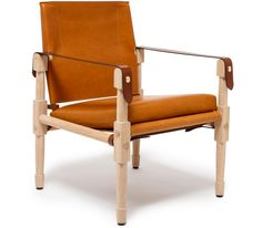 The Ultimate Safari Chair // Ghurka, Officer's Lounger, leather chair