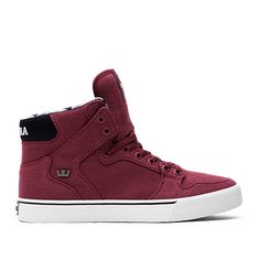 SUPRA Footwear. Městská MódaPánské OděvyHip HopVínově Červená 913b4bc1e26